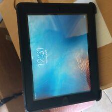 Apple iPad 2 16GB, Wi-Fi + Cellular (Unlocked), A1396, 9.7in AT&T Otterbox case