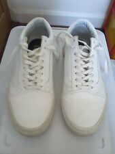Vans Classic White Skate Shoes UK 7 Eu 40.5