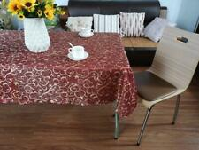 Assorted Tablecloths Scroll, Organza and Macrame Lace 85x85cm or 130x180cm