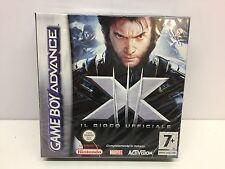X-men il Gioco Ufficiale Nintendo Game Boy Advance completo