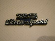 YAMAHA XS ELEVEN SPECIAL, '79,   SIDE COVER BADGE. METAL REPRODUCTION