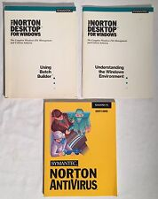 Symantec NORTON Antivirus Desktop For Windows Software Manuals