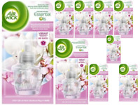9x Air Wick Magnolia & Cherry Blossom Plug-in Refill 19ml