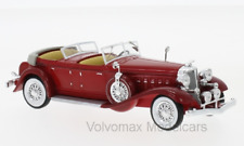 wonderful modelcar Chrysler Imperial Le Baron Phaeton 1933 - red - 1/43 - lim.