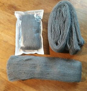 Steel Wire Wool Liberon Top Quality Various Grades and lengths available NEW