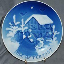 Weihnachtsteller Bing & Gröndahl, Jule Aften 1967