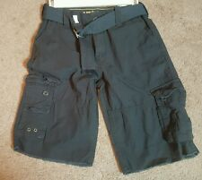 Uproar Boys Cargo Shorts, Blue, Sz. 14 Regular