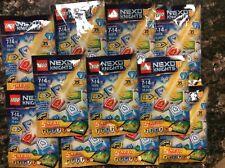 11 Nexo Knights 70372 Combo 5 Nexo Powers Wave 1 Mystery Bag New Unopened
