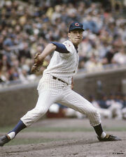 KEN HOLTZMAN 1969 CHICAGO CUBS 8X10 PHOTO