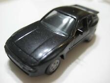 Herpa (Germany) Metallic Black Porsche 944 Plastic 1:87