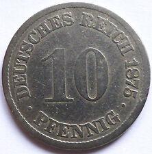Germany 1875 - 10 pfennig [KM# 4]