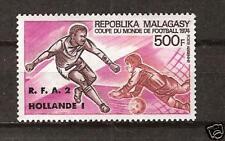 Malagasy Republic # C-130 Mnh World Cup Soccer 1974