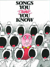 Songs You Think You Know Book for Easy Piano & Vocal 100 Well-Known Tunes B27