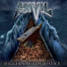 Anvil: Juggernaut of Justice (CD 2011) SEALED!