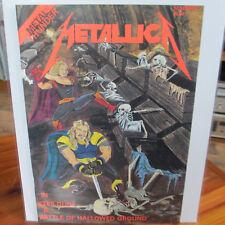 METALLICA Comic Book; Metal Thunder; July 1992 1st Print; ex; Very Rare Issue
