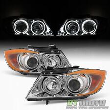 2006 2007 2008 BMW E90 Sedan 325i 330I 335i LED CCFL Halo Projector Headlights