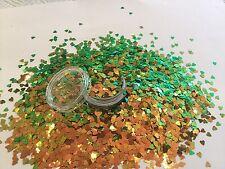 Beautiful Glitter Mix Nail Art Green Chameleon  For Acrylic & Gel Application