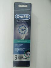 Oral-B Pro Gum Care Replacement Toothbrush Brush Heads 3 Count NEW!!