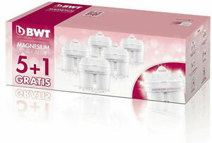 BWT Longlife Filterkartusche 5+1 Kartuschen PACK Magnesium Mineralized Water