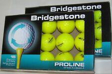 30 Bridgestone e6 golf balls Yellow Grade AAAAA  LOT 8G063