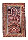 EXTRAORDINARY ONE OF THE KIND ANTIQUE 19th SHIRVAN CAUCASIAN PRAYER RUG @NR. D.1