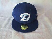 NEW ERA DAYTONA CUBS HOME BASEBALL HAT CUBS CLASS A 59FIFTY BRAND SIZE 7 3/8