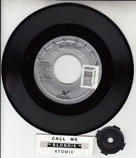 "BLONDIE  Call Me & Atomic 7"" 45 rpm vinyl record BRAND NEW + jukebox tile strip"