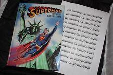 Superman 1984 Tapa Dura Libro Versión Ingles