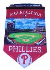 "Philadelphia Phillies MLB Baseball Stadium 17"" x 26"" Wall Flag Pennant"