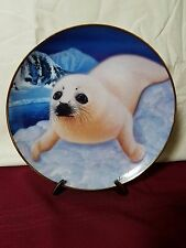"""Franklin Mint """"What's Up Pup?"""" Limited Edition Plate by Wepplo Plate #JA1137"""