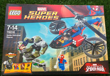 LEGO SET BOITE NEUF MARVEL SUPER HEROS SPIDERMAN SPIDER MAN  HELICOPTER 76016
