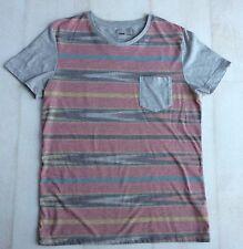 Mens New Asos Grey Short Sleeved T-Shirt, Size S