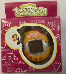 TAMAGOTCHI Connection 49 Pets In 1 Keychain NEW Never Opened!