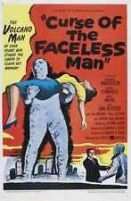Curse Of Faceless Man Poster 01 Metal Sign A4 12x8 Aluminium