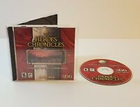 Heroes Chronicles Conquest of the Underworld PC CD-Rom 2000 windows game