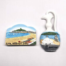 Greece Seaside Fridge Magnet Beach Tourism View Refrigerator Sticker Home Decor