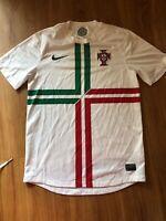 MENS Small Nike Soccer Football Futbol Jersey Portugal Football Federation FPF