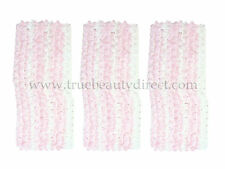 3 x PINK & WHITE WEAVED HEADBAND HAIRBAND HAIR ACCESSORIES NEW BARGAINS IN SHOP