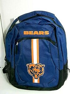 NFL Chicago Bears Blue Action Backpack by Forever Collectibles