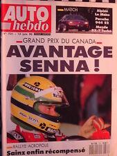 revue  ALPINEGT  LE MANS / PORSCHE 944 S2 / RX7 TURBO/ 1990 / auto hebdo n°731