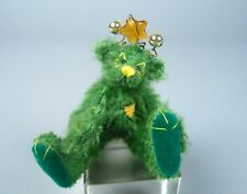 Deb Canham Moonshine Cosmic Green Mohair Alien Bear Out of Towners Collection