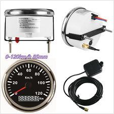Waterproof 12/24V Car Off-Road 85mm GPS Digital Speedometer Meter Kit 0-120KM/H