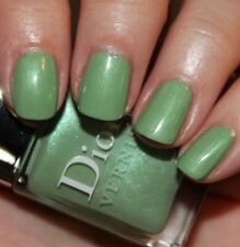 Dior Waterlily 504 Vernis Perfume Nail Polish Mint Green Shimmer Garden Party