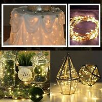 LED Copper Wire Fairy String Lights Christmas Tree Party Waterproof Battery NEW