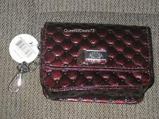 Swinton Quilted Single Pocket Key Chain Clutch Wallet Pouch Bag Purse Case Coppe
