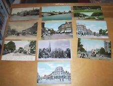TEN LONDON ORIGINAL POSTCARDS SHOWING TRAMS some between 1904 & 1914 LOT 3