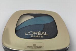 L'Oréal Paris Colour Riche Dual Effects Eye Shadow 290 Emerald Conquest 0.12 oz.