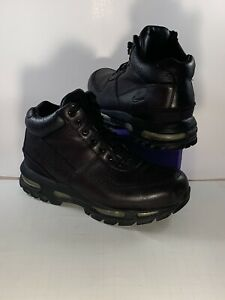 Nike Youth Air Max Goadome (GS) Boots Sz-7Y Black/Silver 311567-001 MSRP $150
