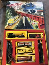 Vintage 1950's Fleischmann Train Set  #1 St.1340/4 G in Original Box RARE