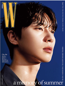 [W Korea] 2021 July Park Seo Joon Cover A Whole Magazine MONSTA X EXO Kai + DHL